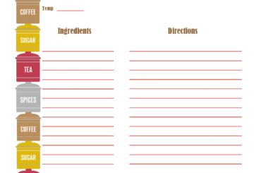 recipe book template 07