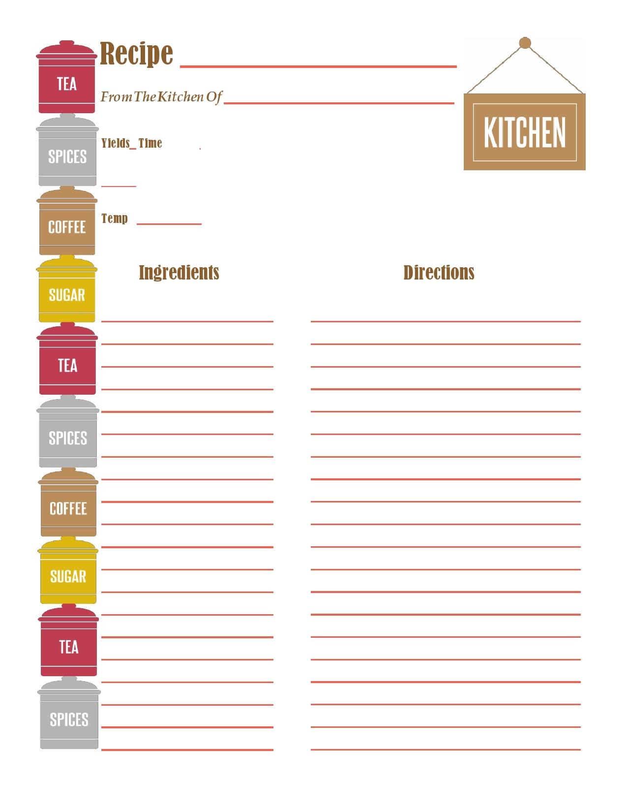 recipe book template 07