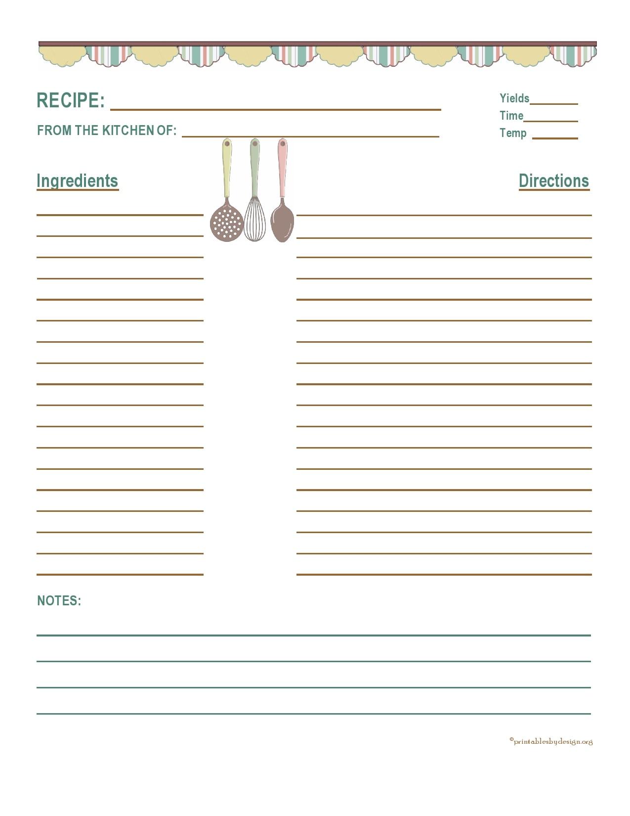 recipe book template 08