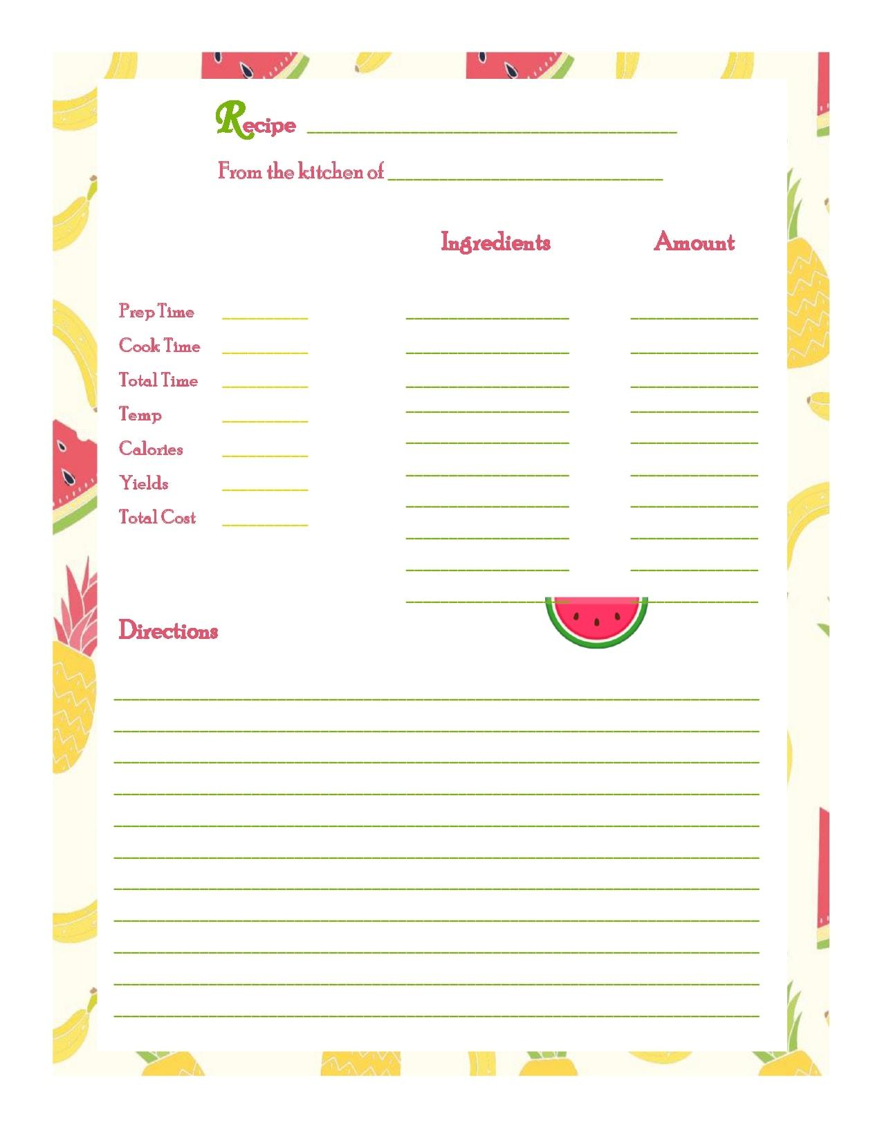 recipe book template 09