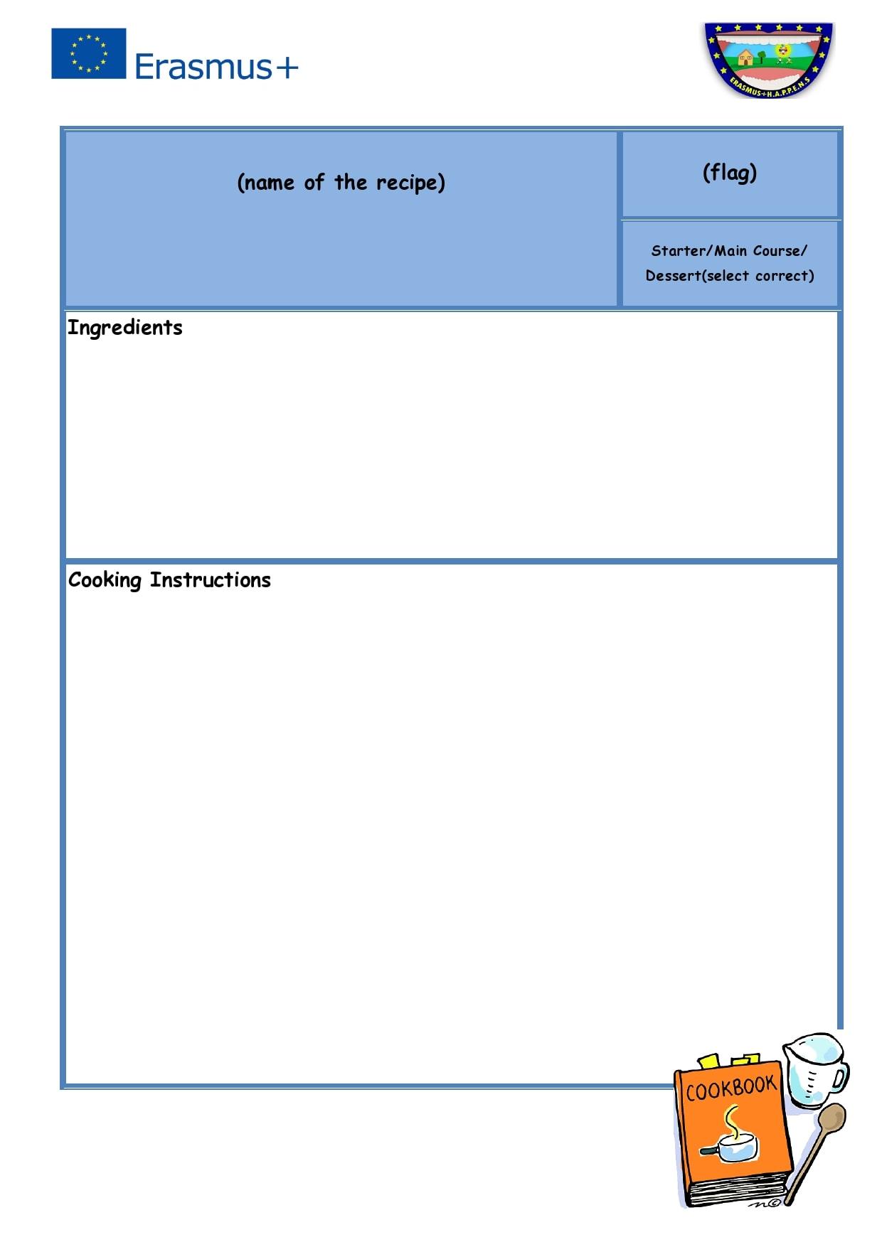 recipe book template 12