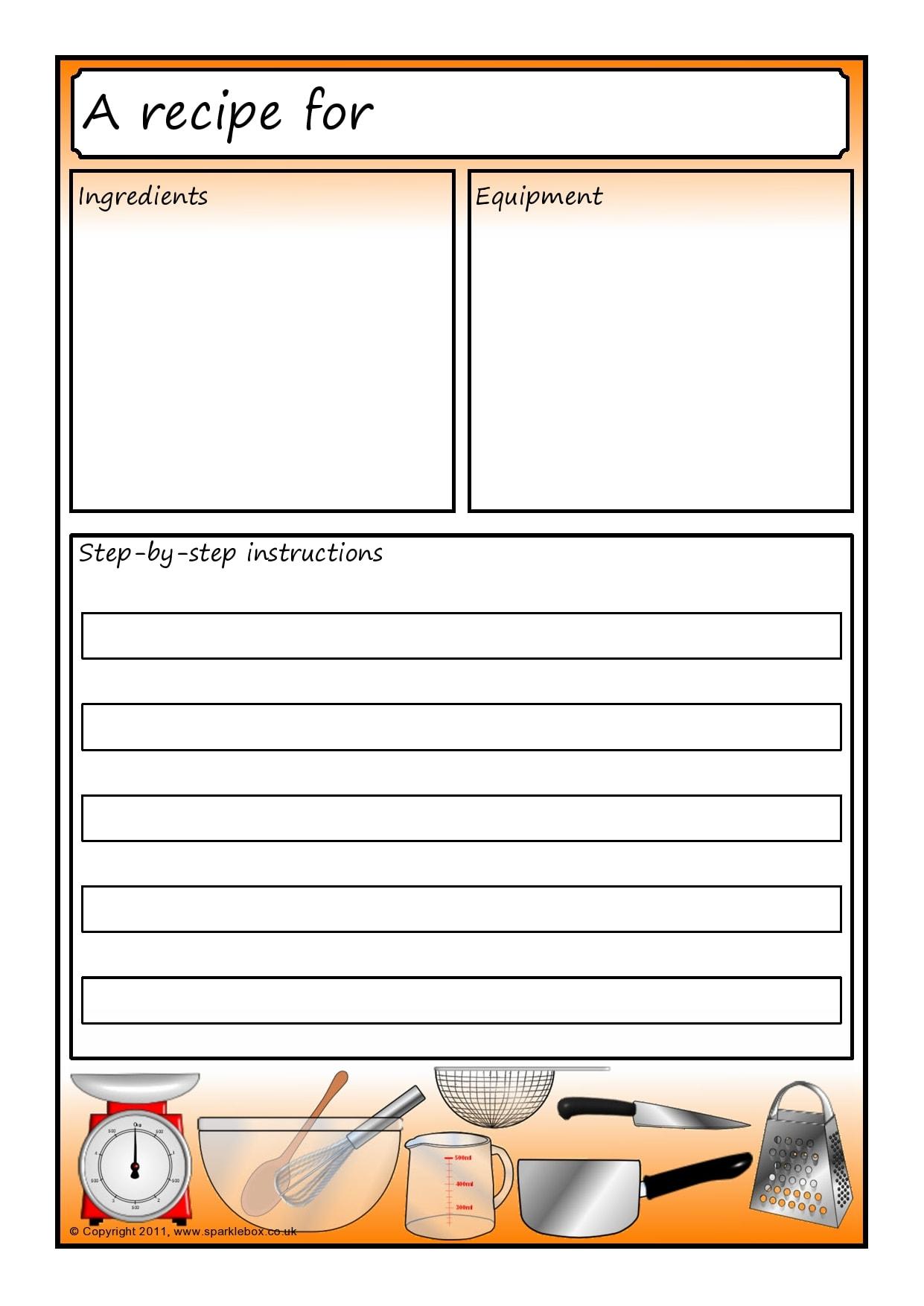 recipe book template 13