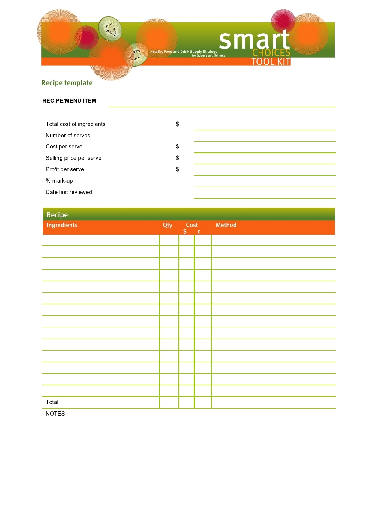 recipe book template 20