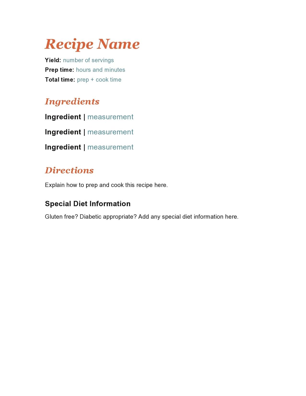 recipe book template 21