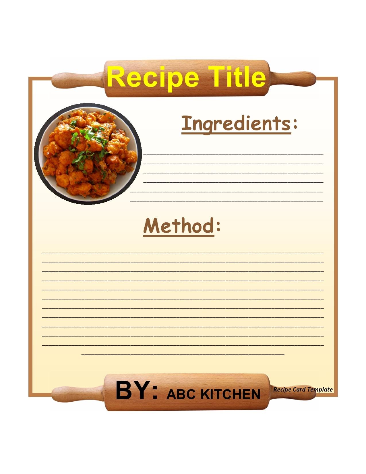 recipe book template 27