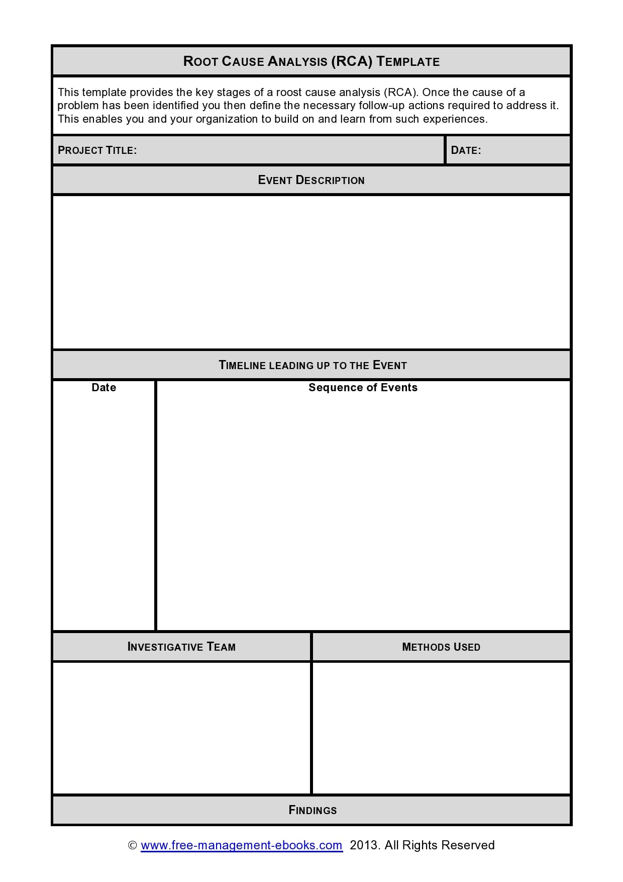 root cause analysis template 14