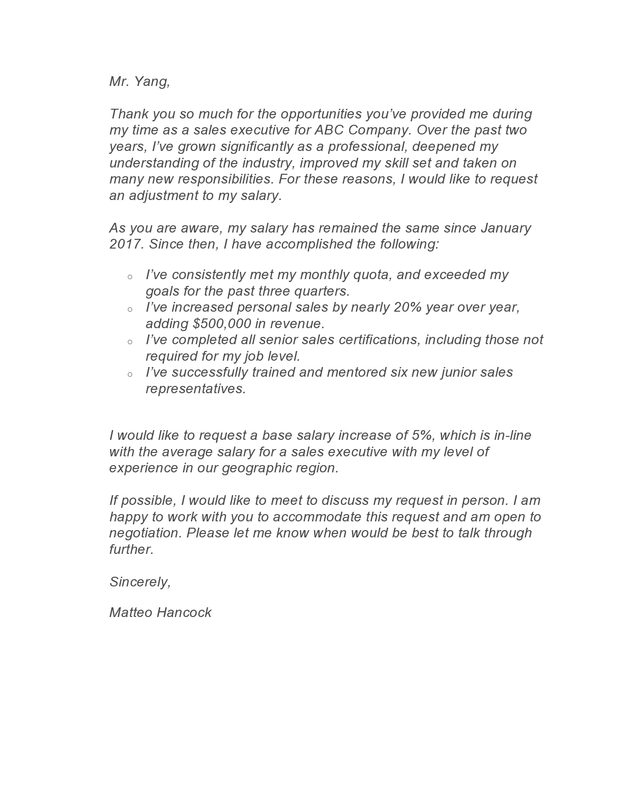 salary increase letter 07
