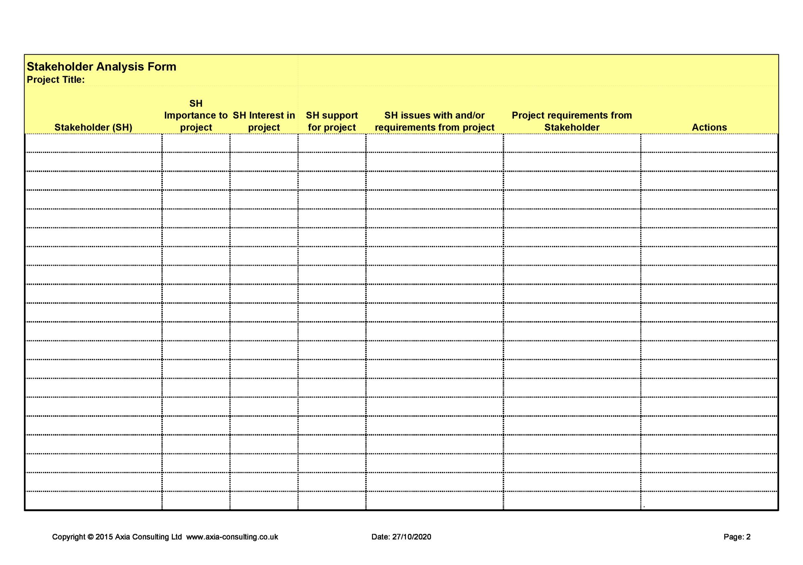 stakeholder analysis template 08