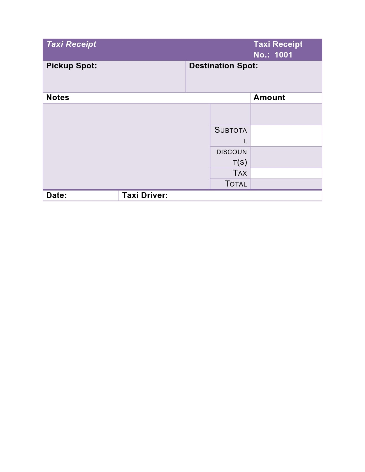 taxi receipt 09