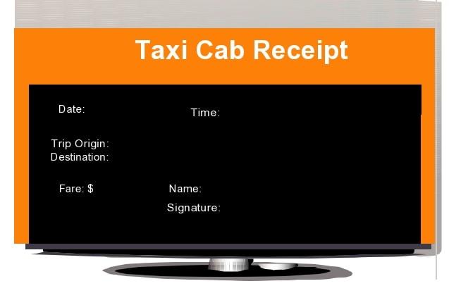 taxi receipt 19