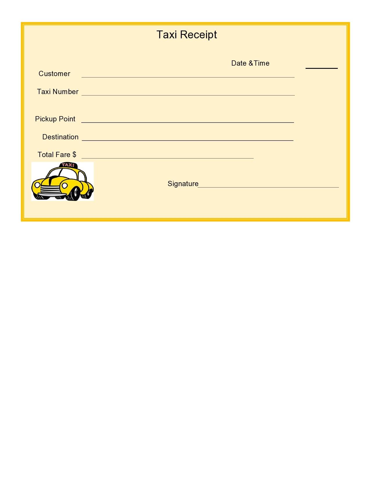 taxi receipt 27