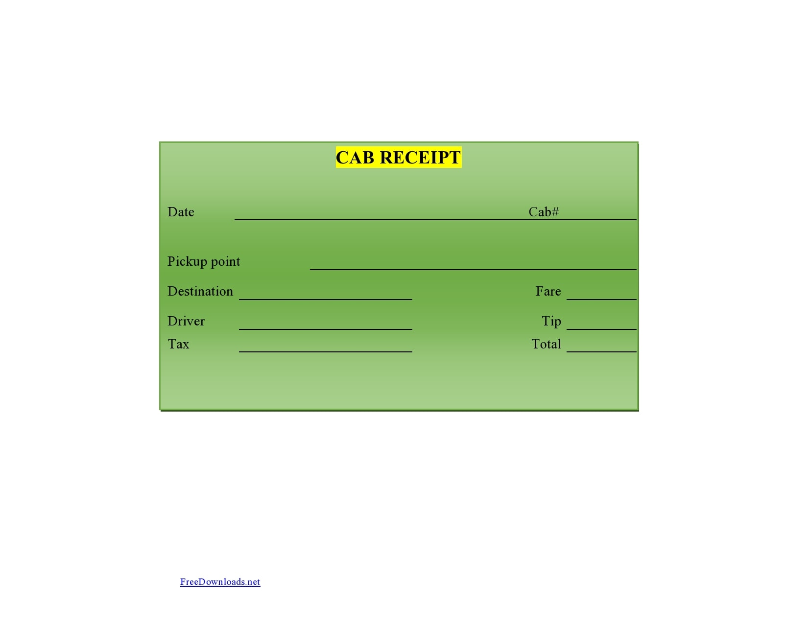 taxi receipt 30