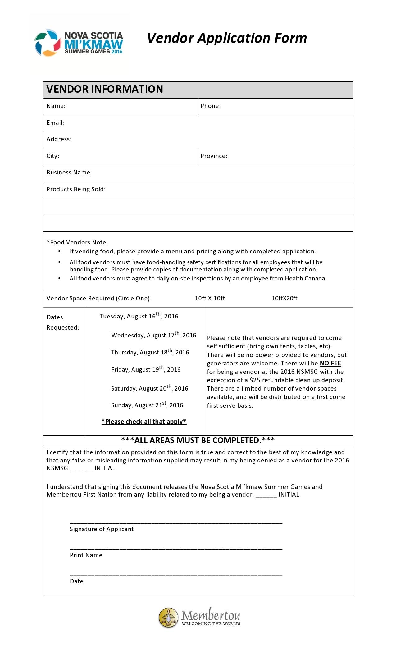 vendor application form 05
