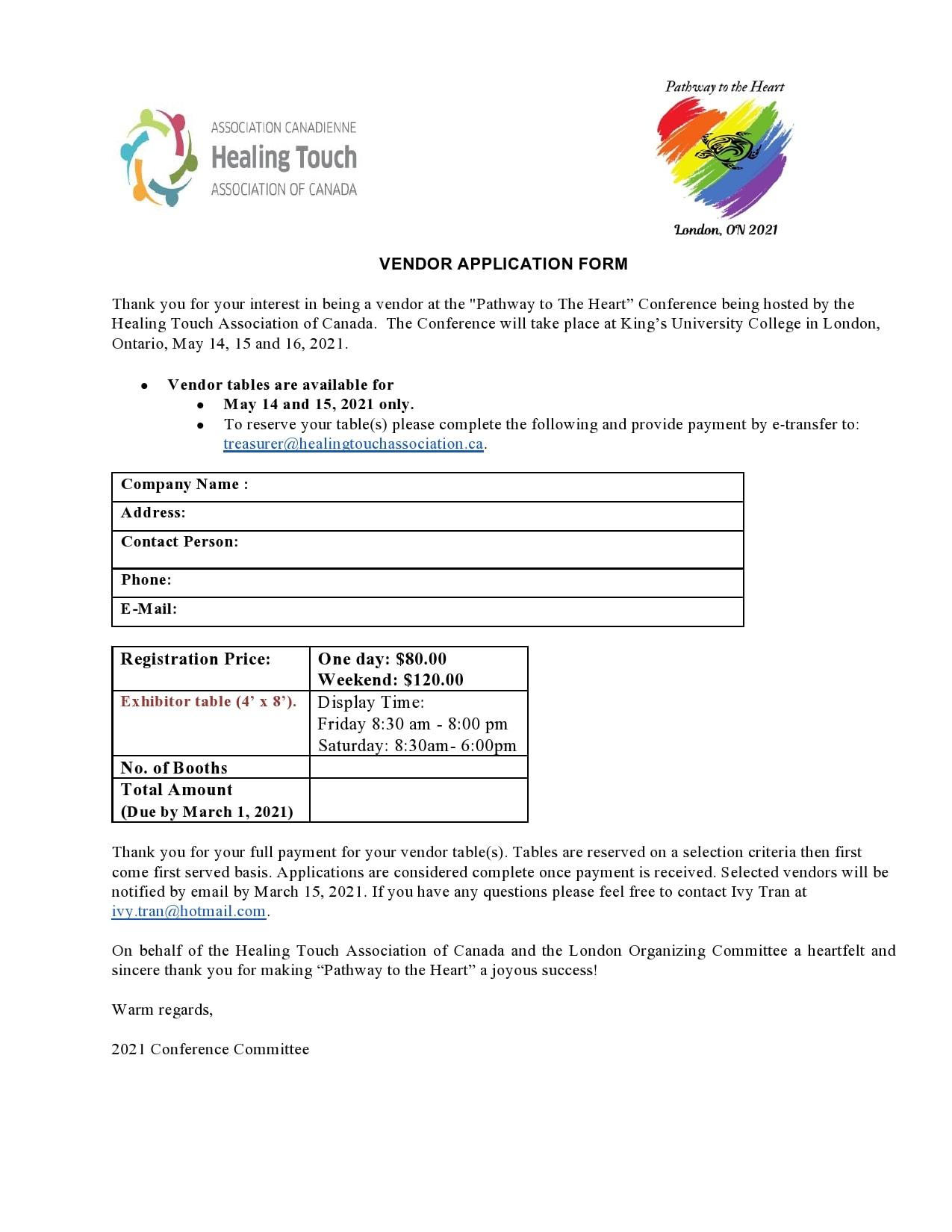 vendor application form 20