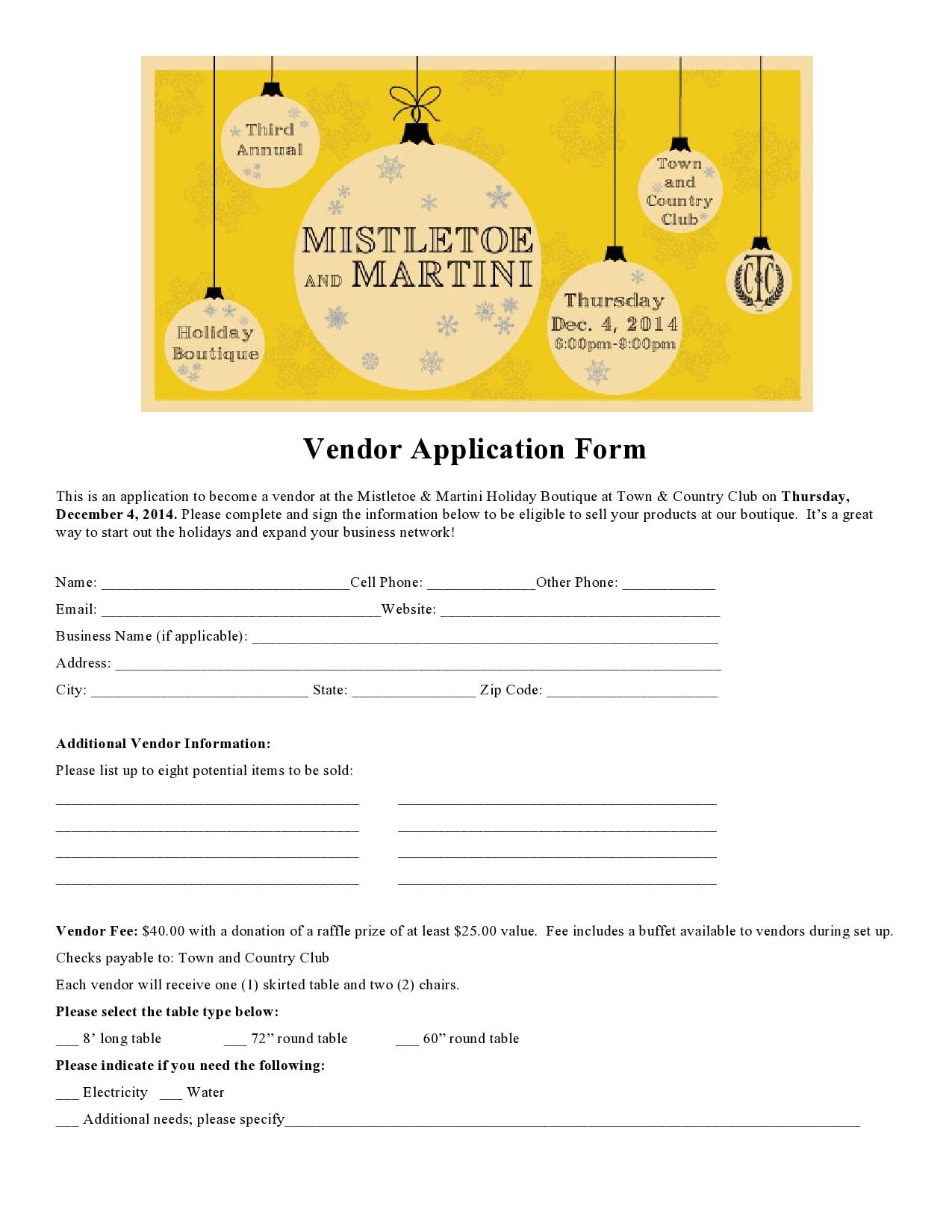 vendor application form 26