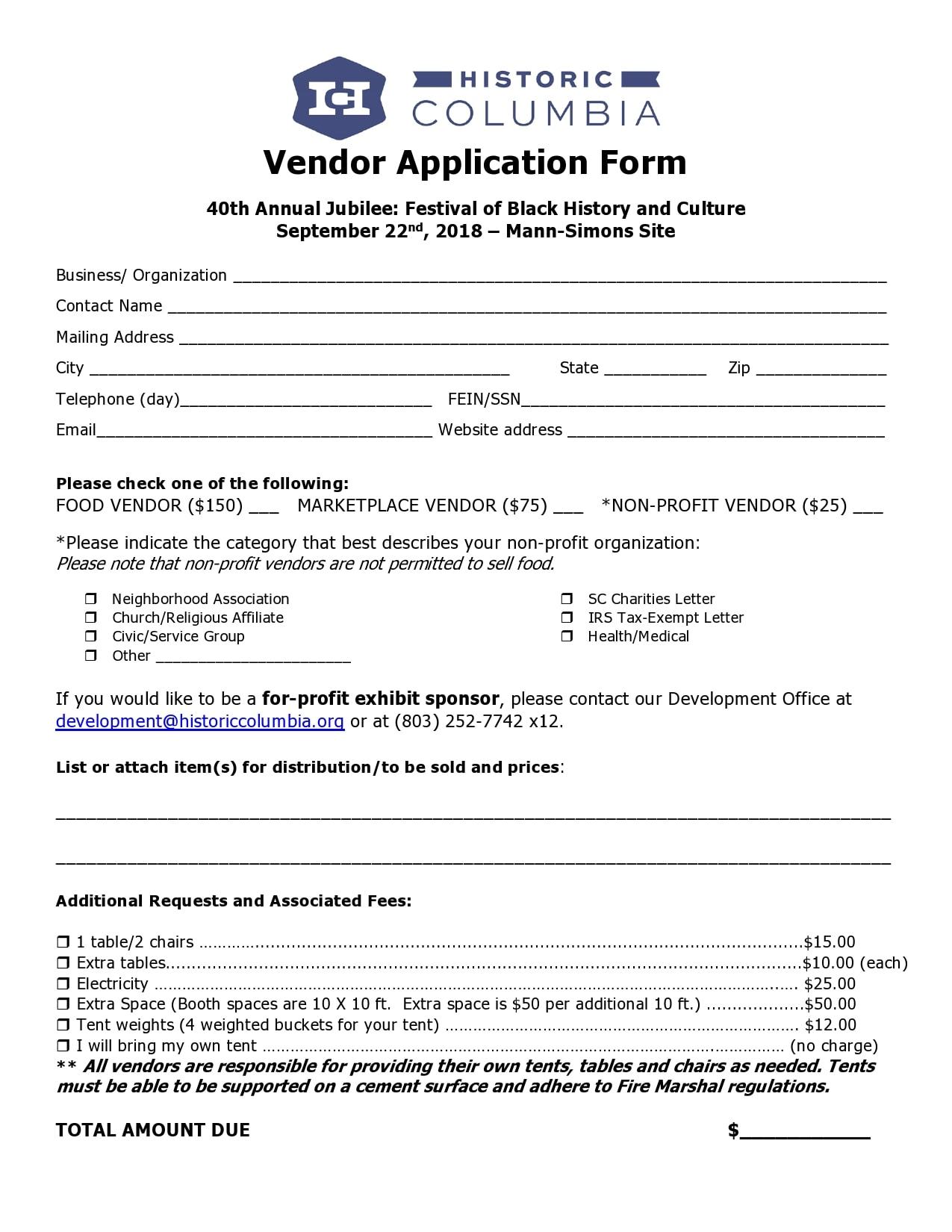 vendor application form 27