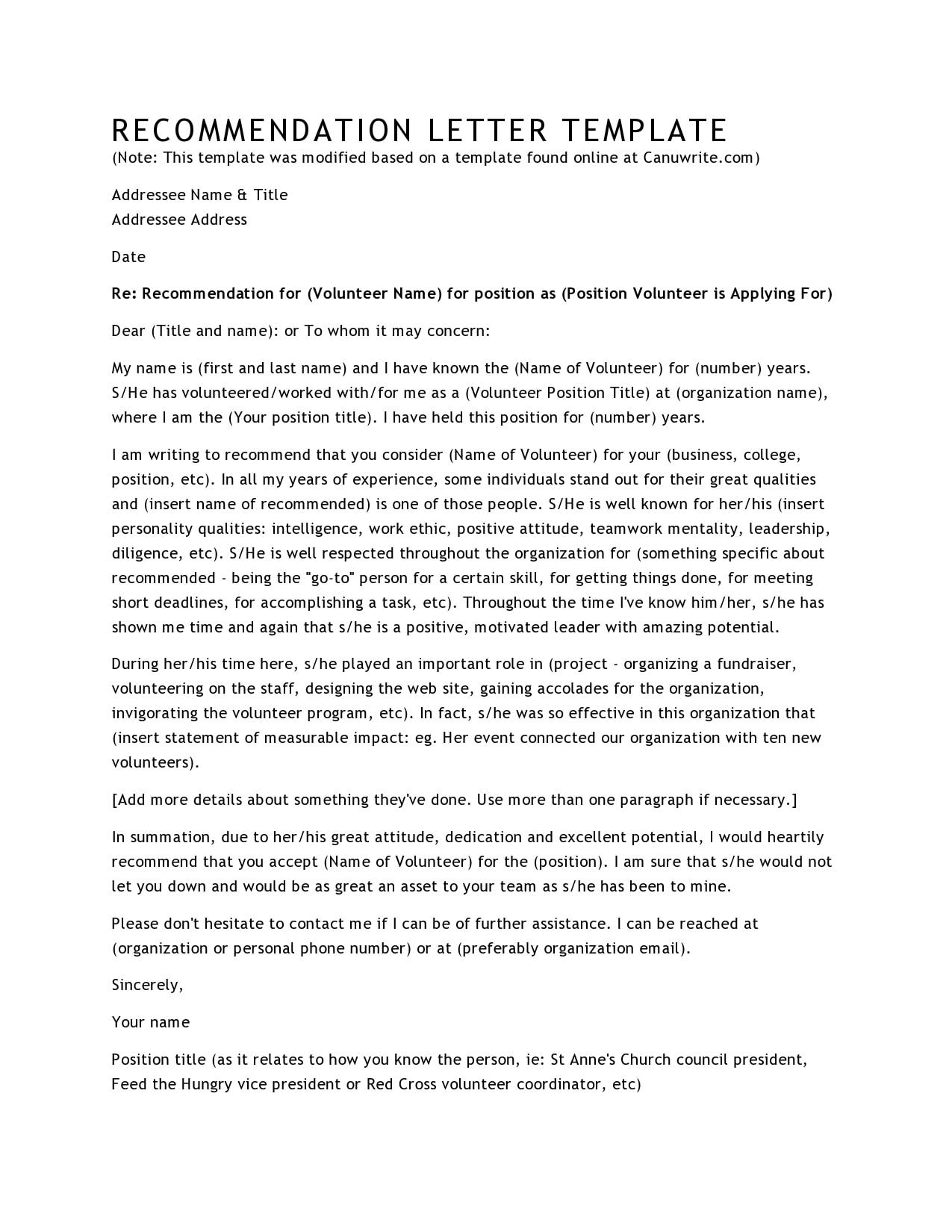 volunteers letter 02