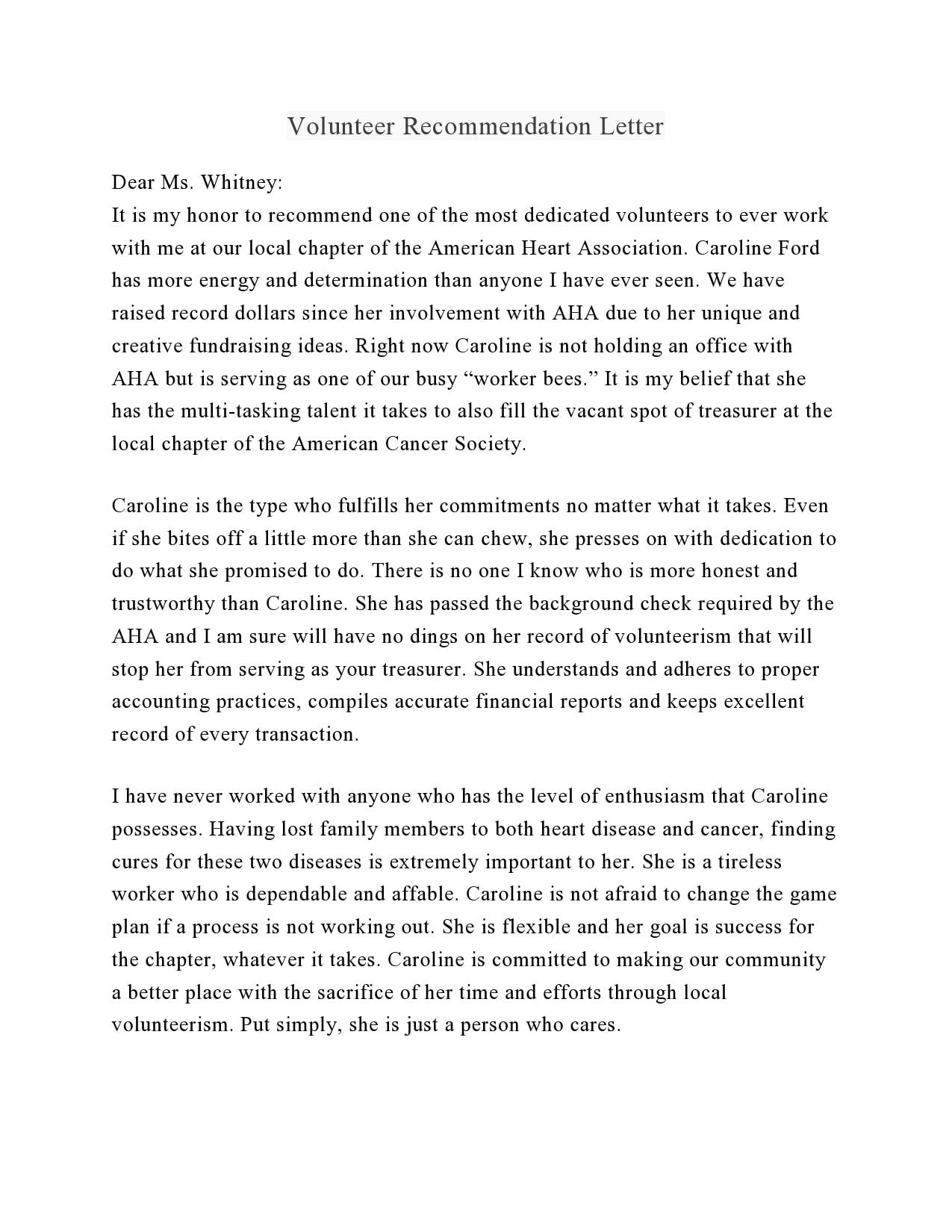 volunteers letter 10