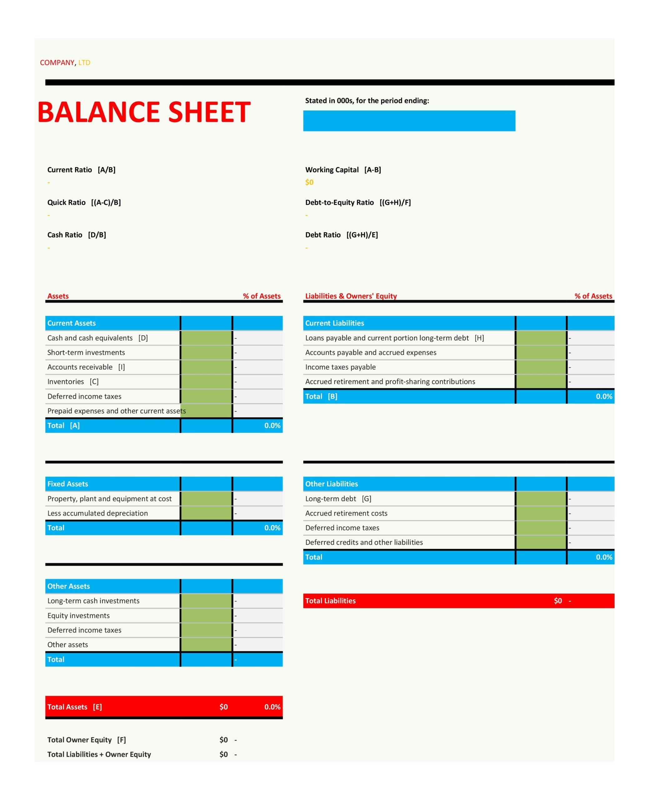balance sheet template 05