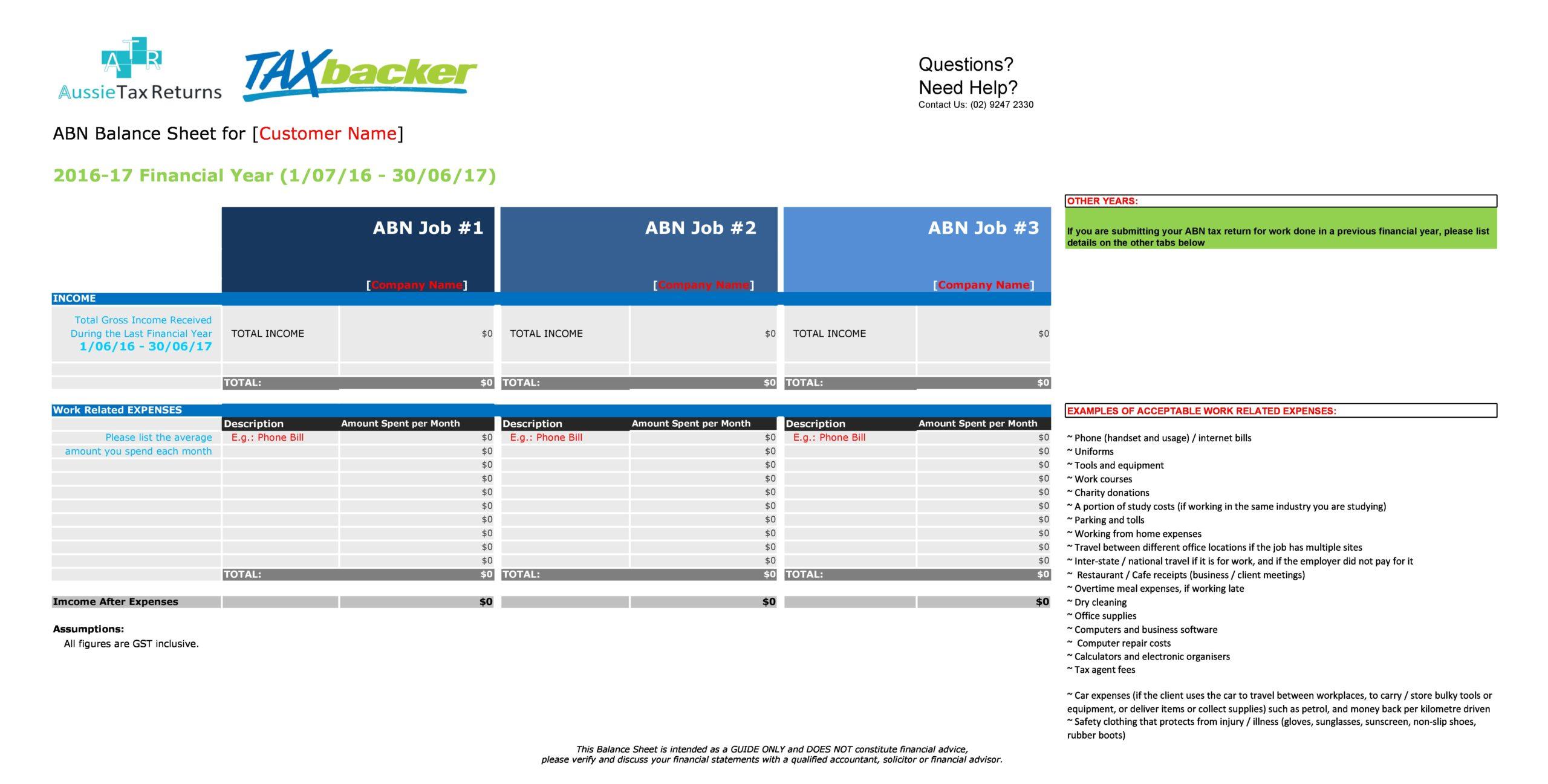 balance sheet template 09