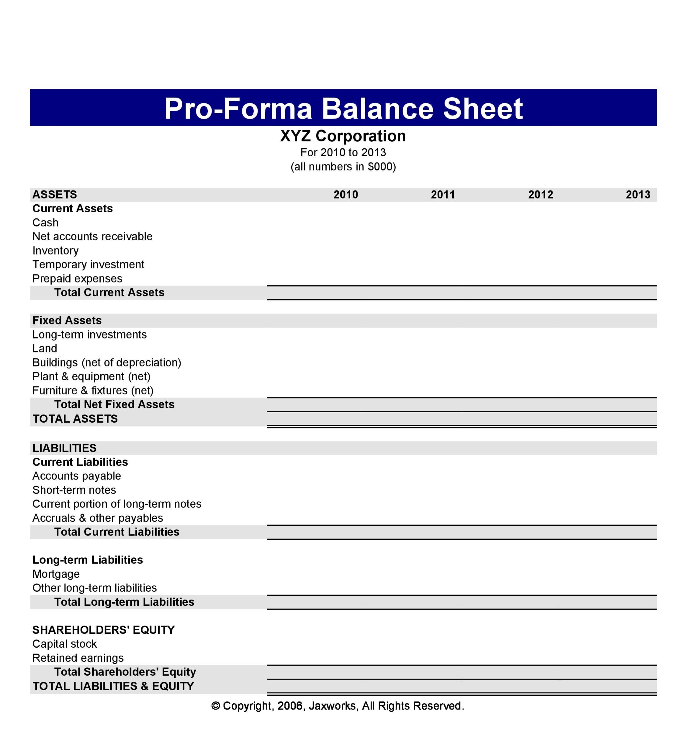 balance sheet template 15