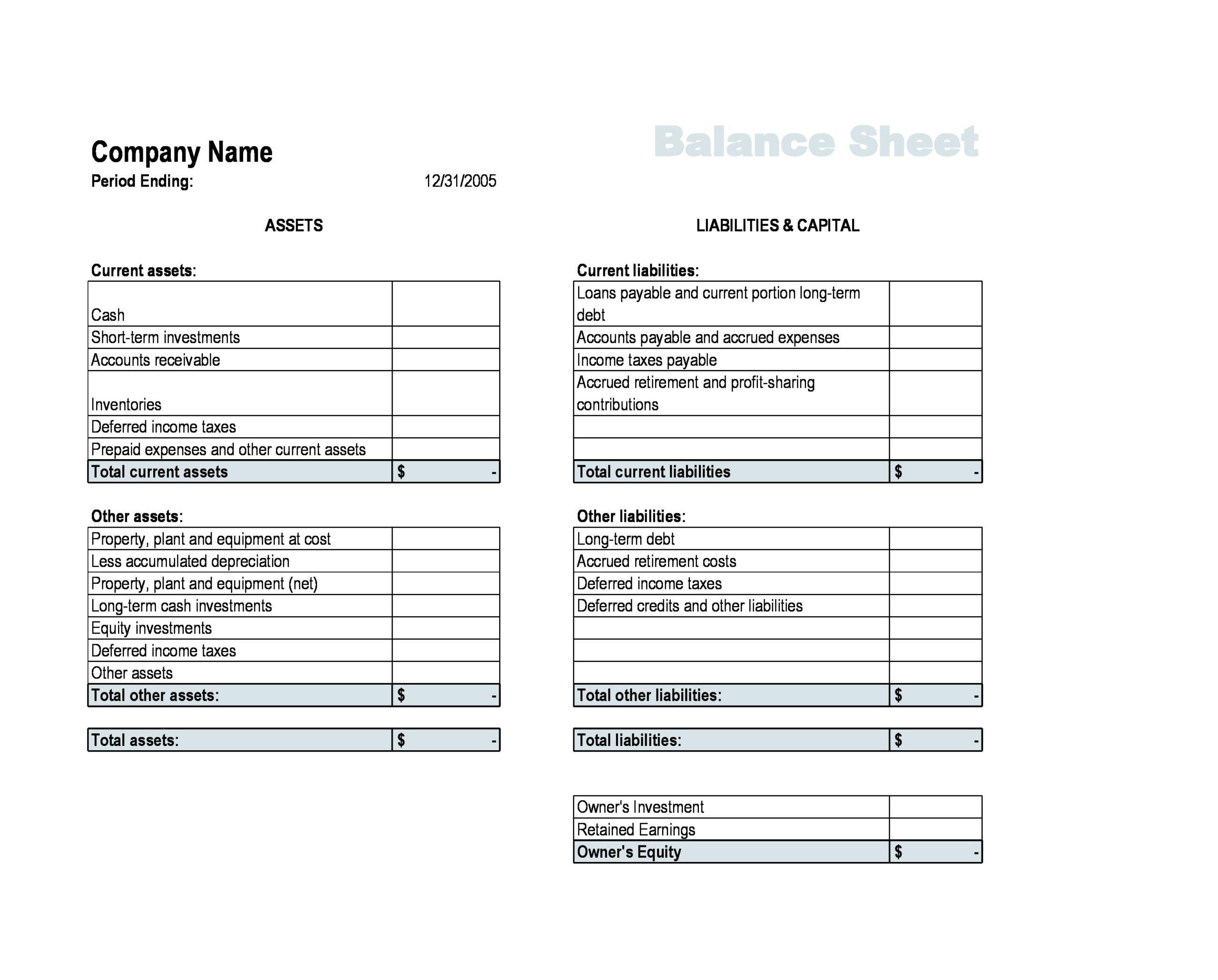 balance sheet template 21
