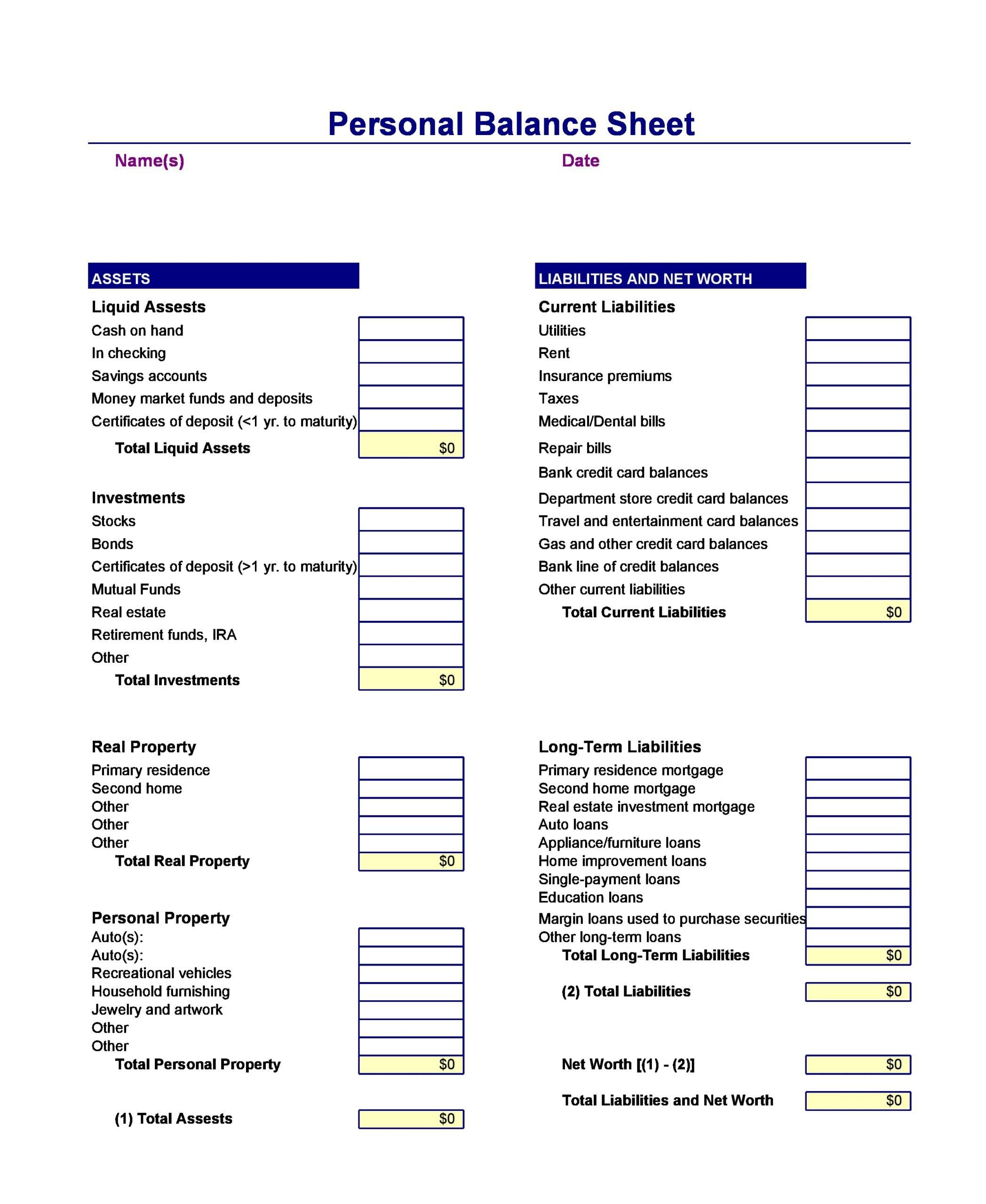balance sheet template 24