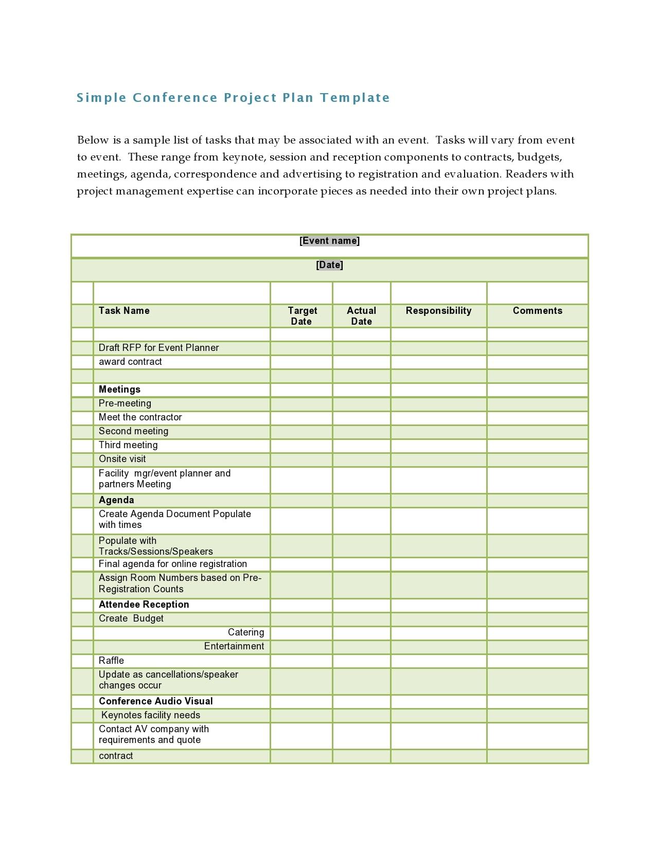 conference agenda template 04