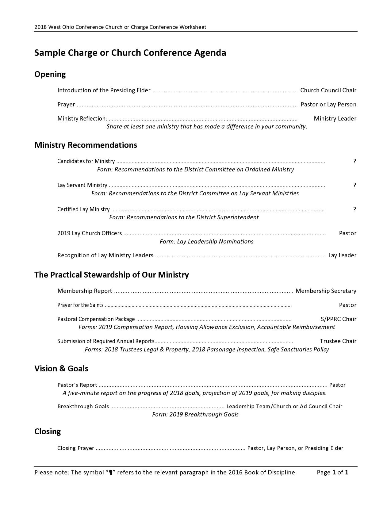 conference agenda template 12
