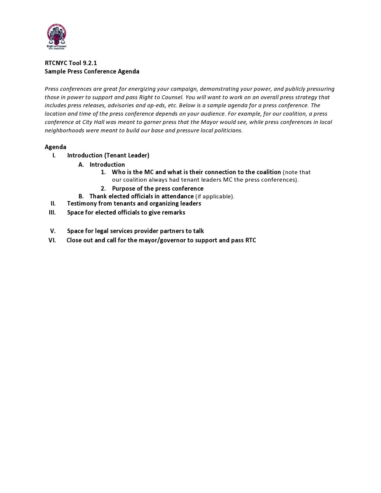 conference agenda template 13