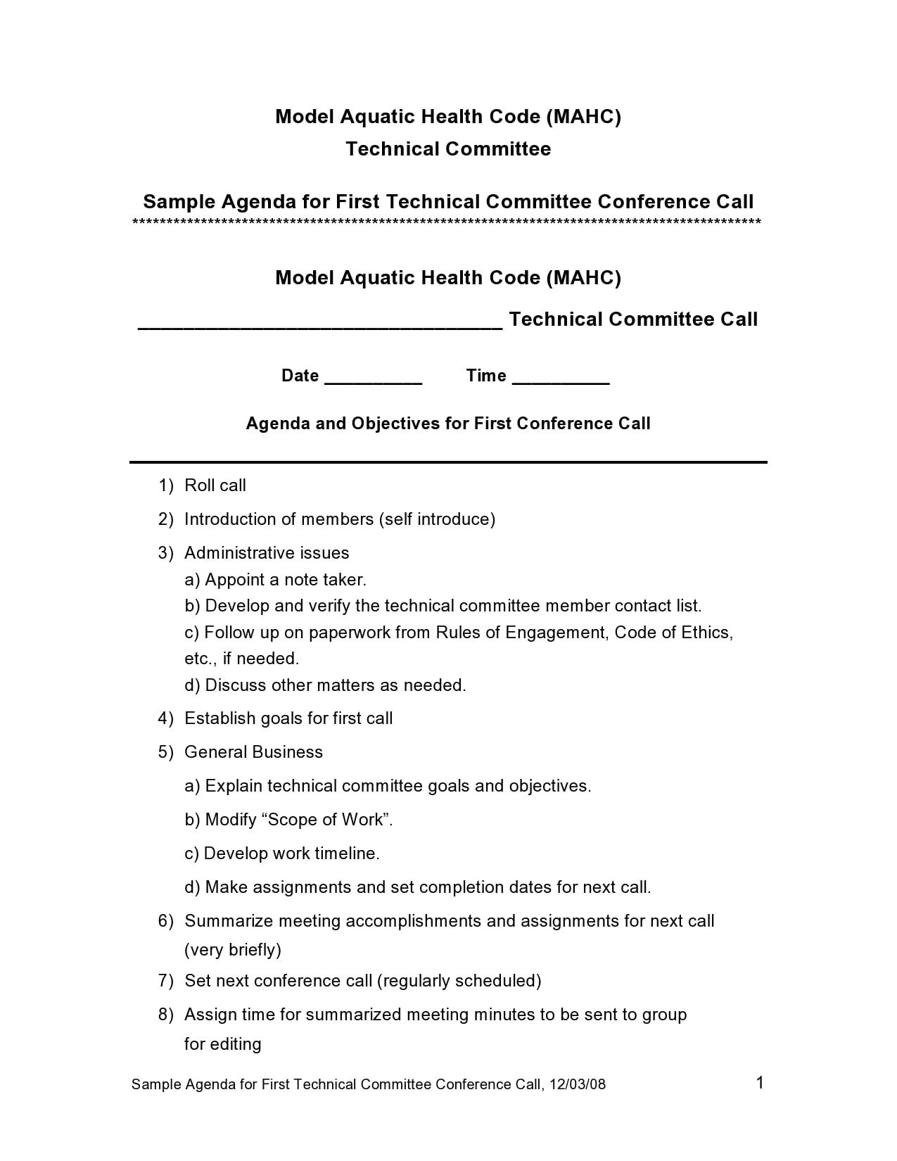 conference agenda template 15