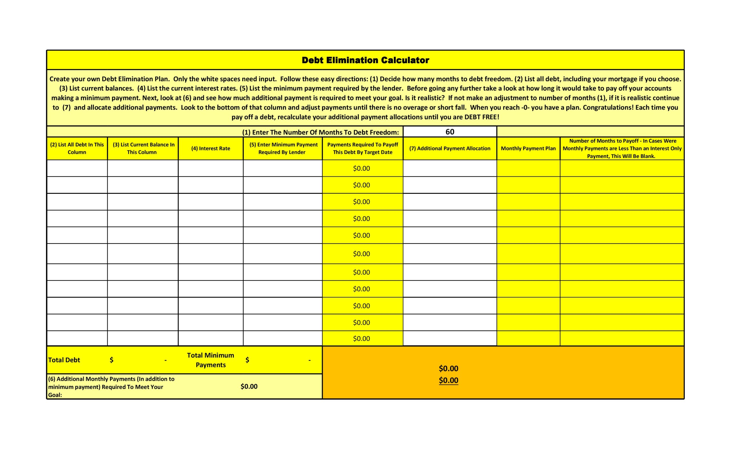 credit card payoff spreadsheet 27