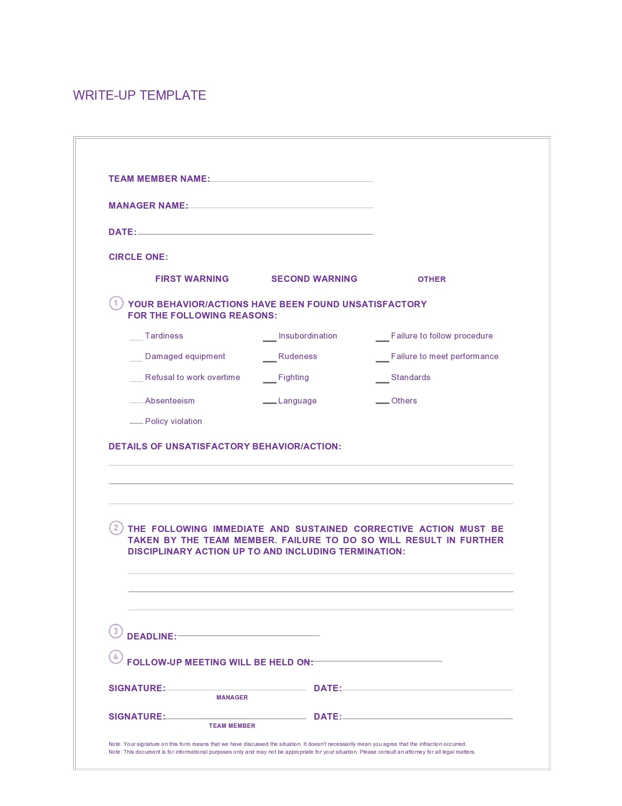 employee write up form 02