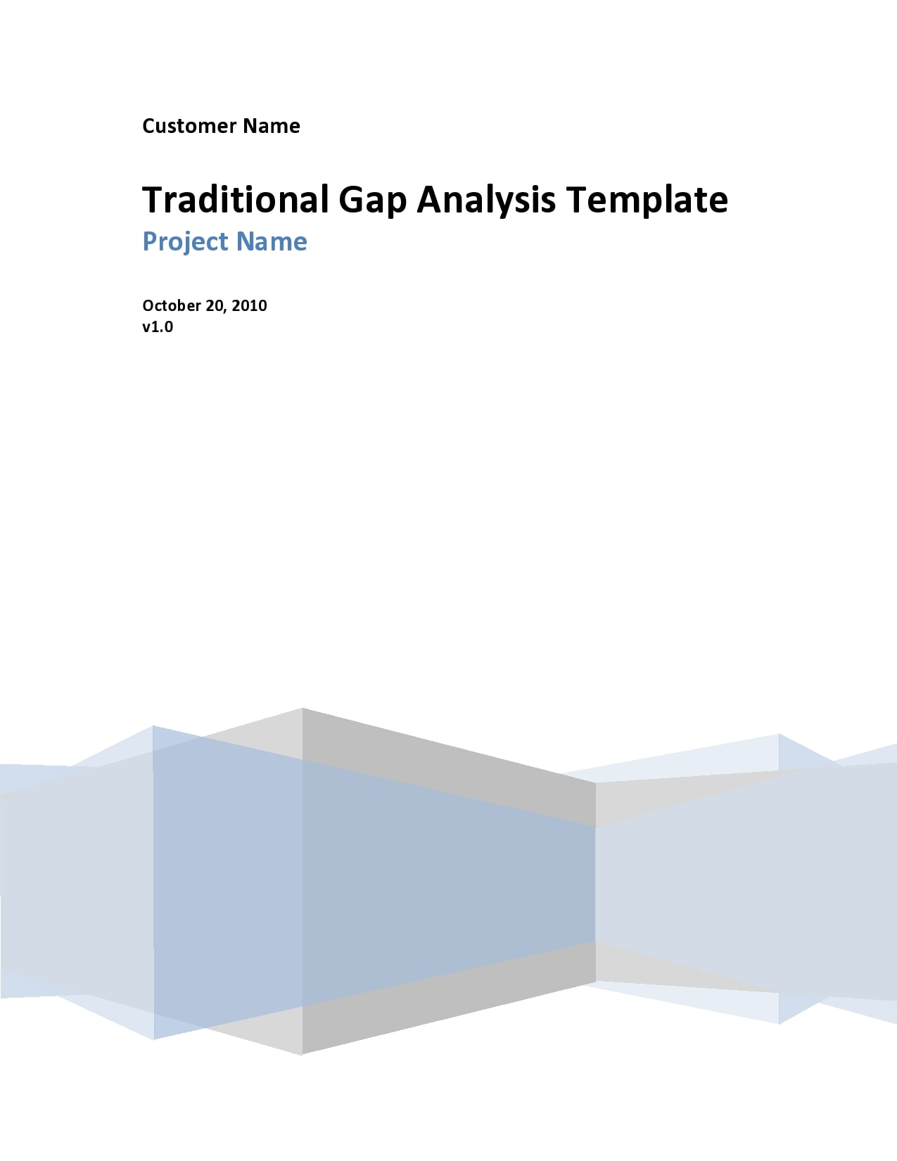 gap analysis template 06