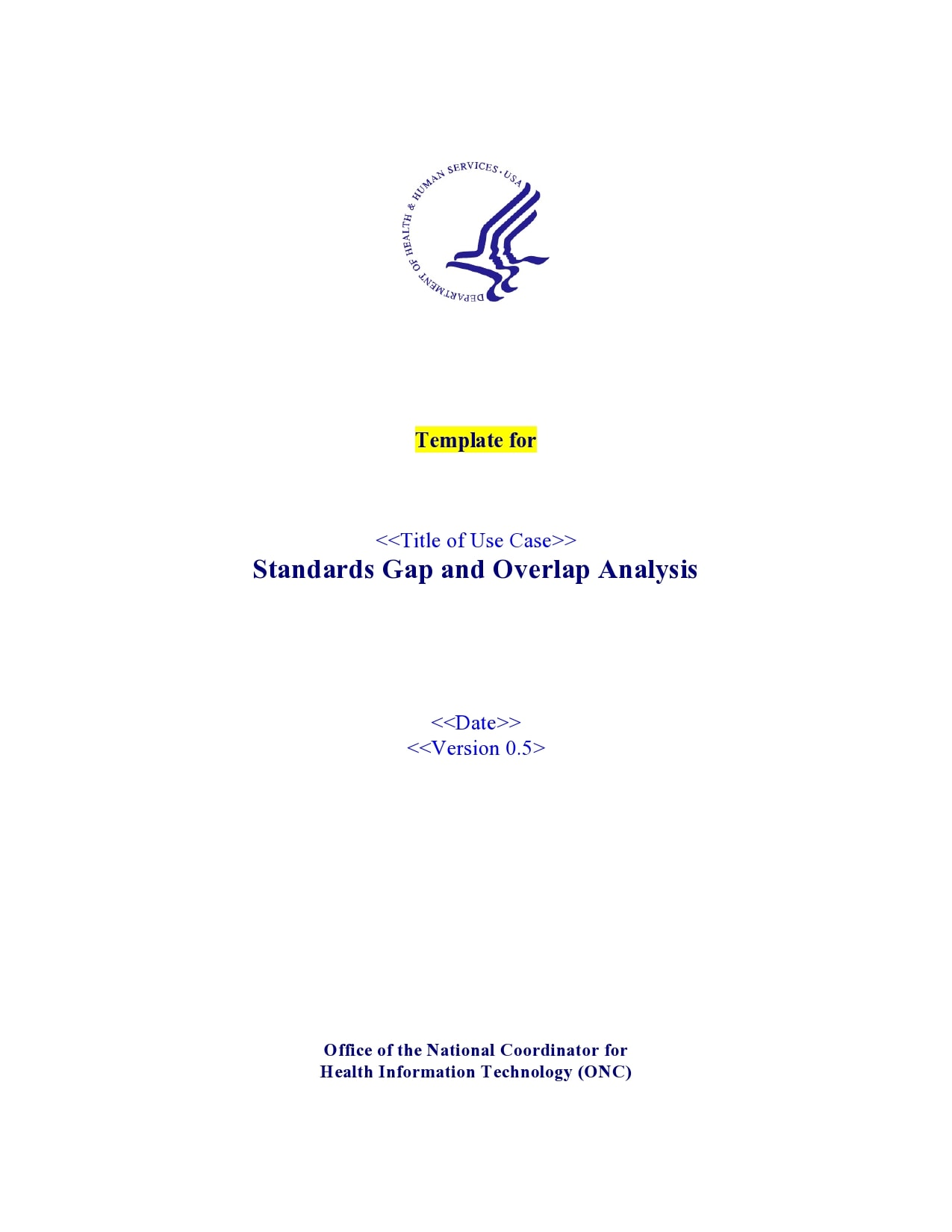 gap analysis template 12