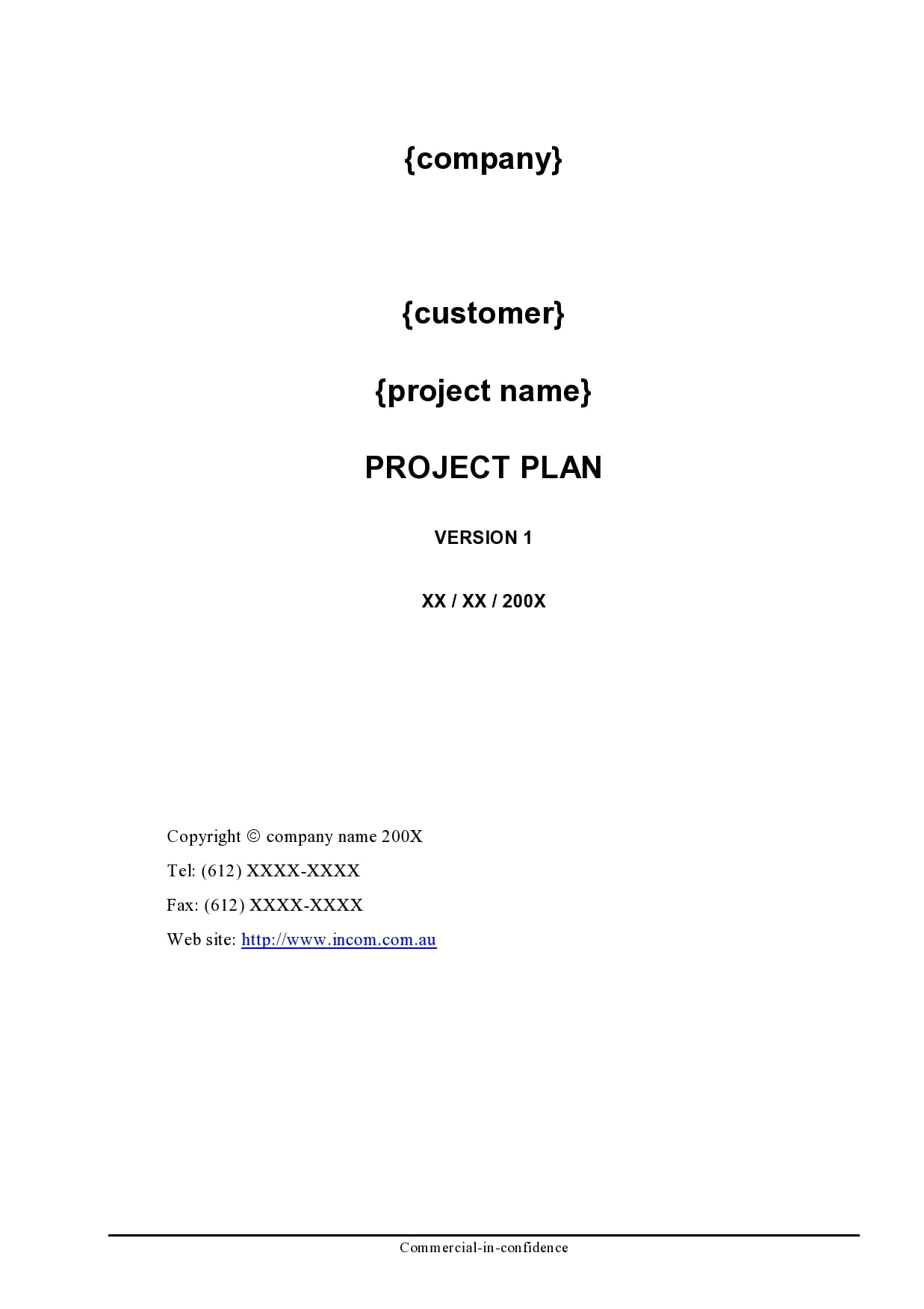 project plan example 10