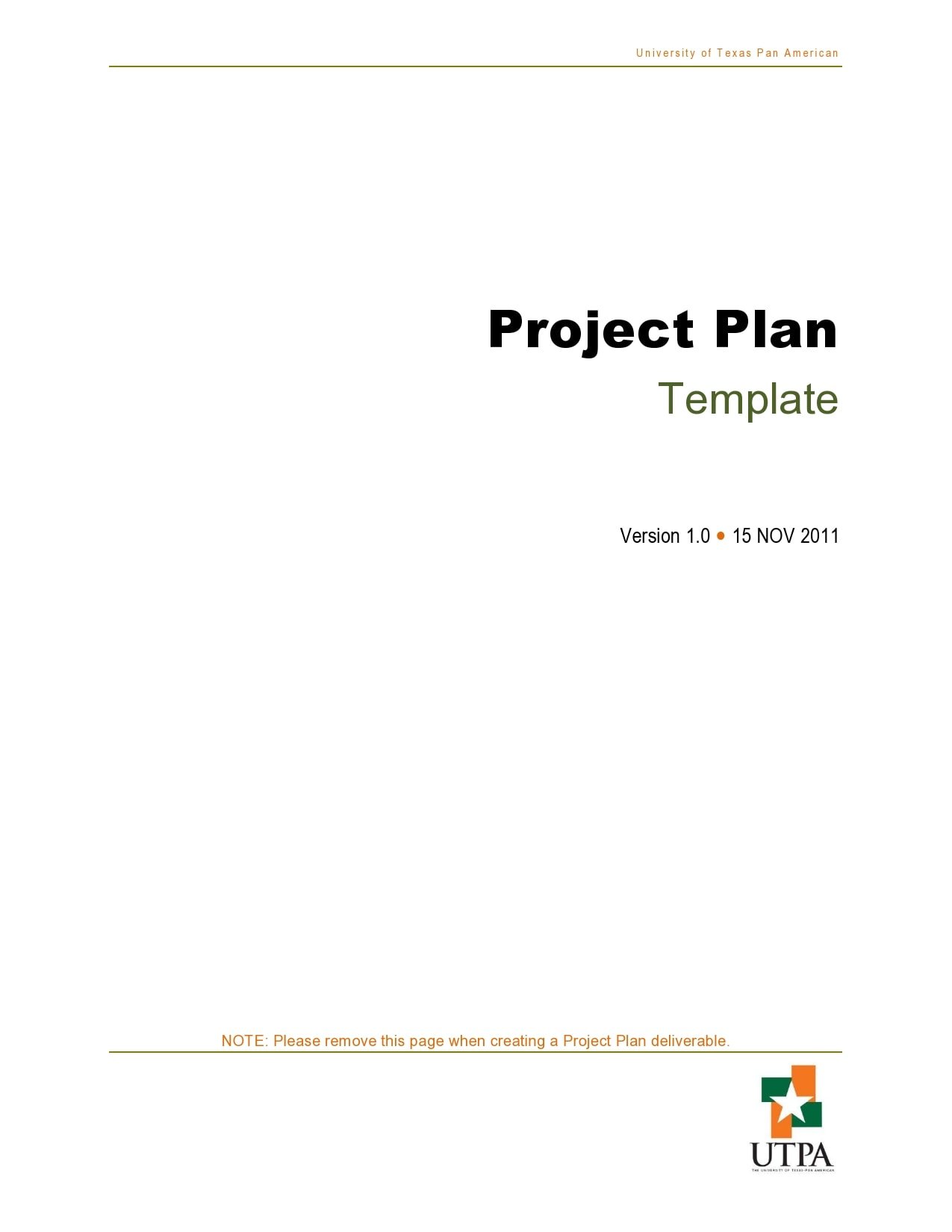 project plan example 12