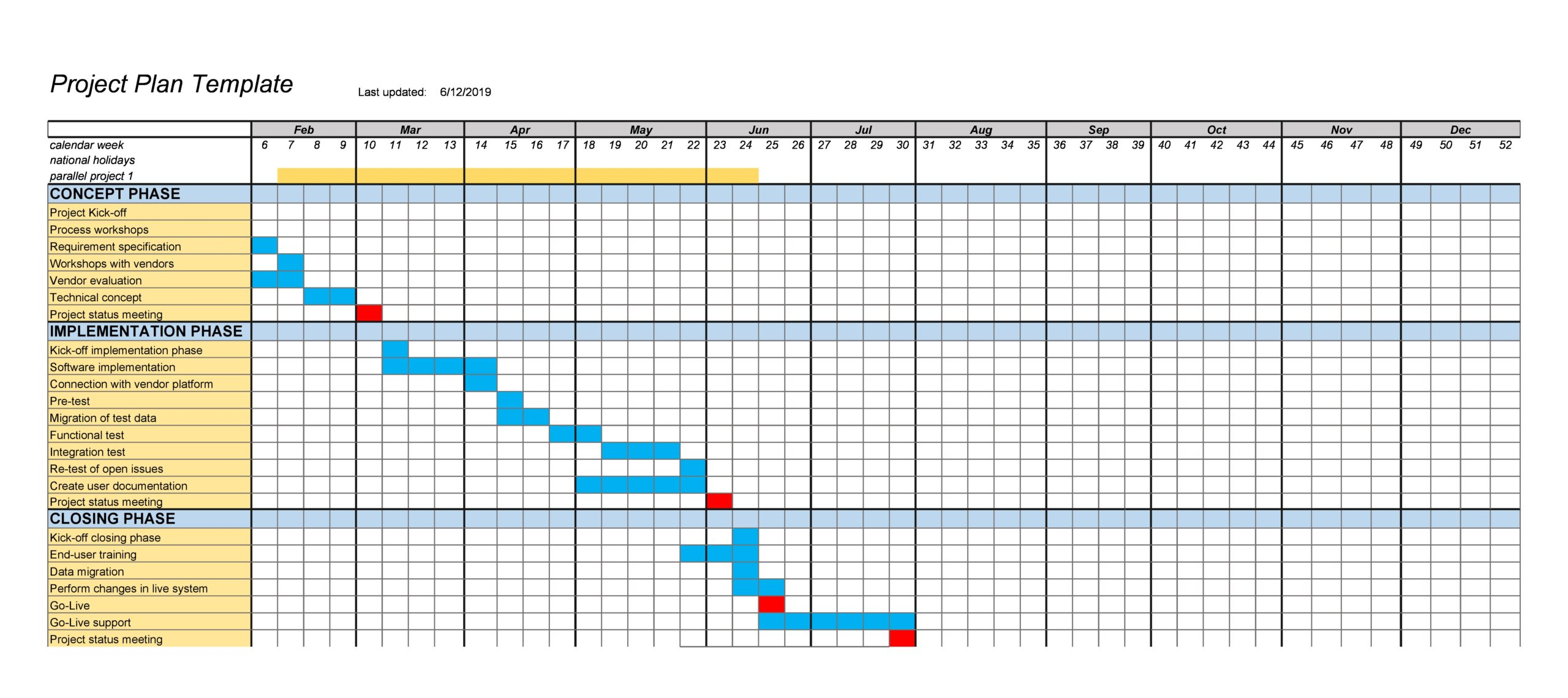 project plan example 20