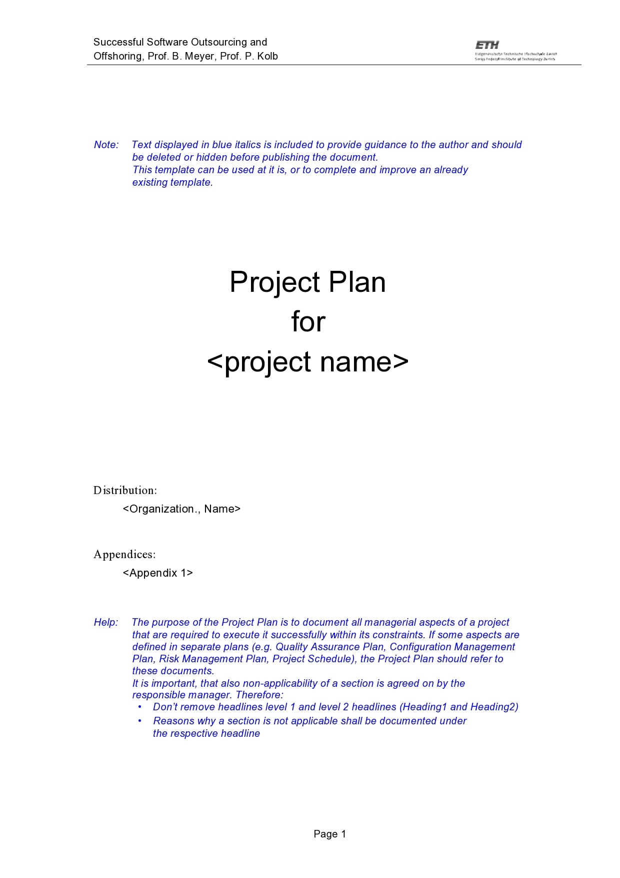 project plan example 29