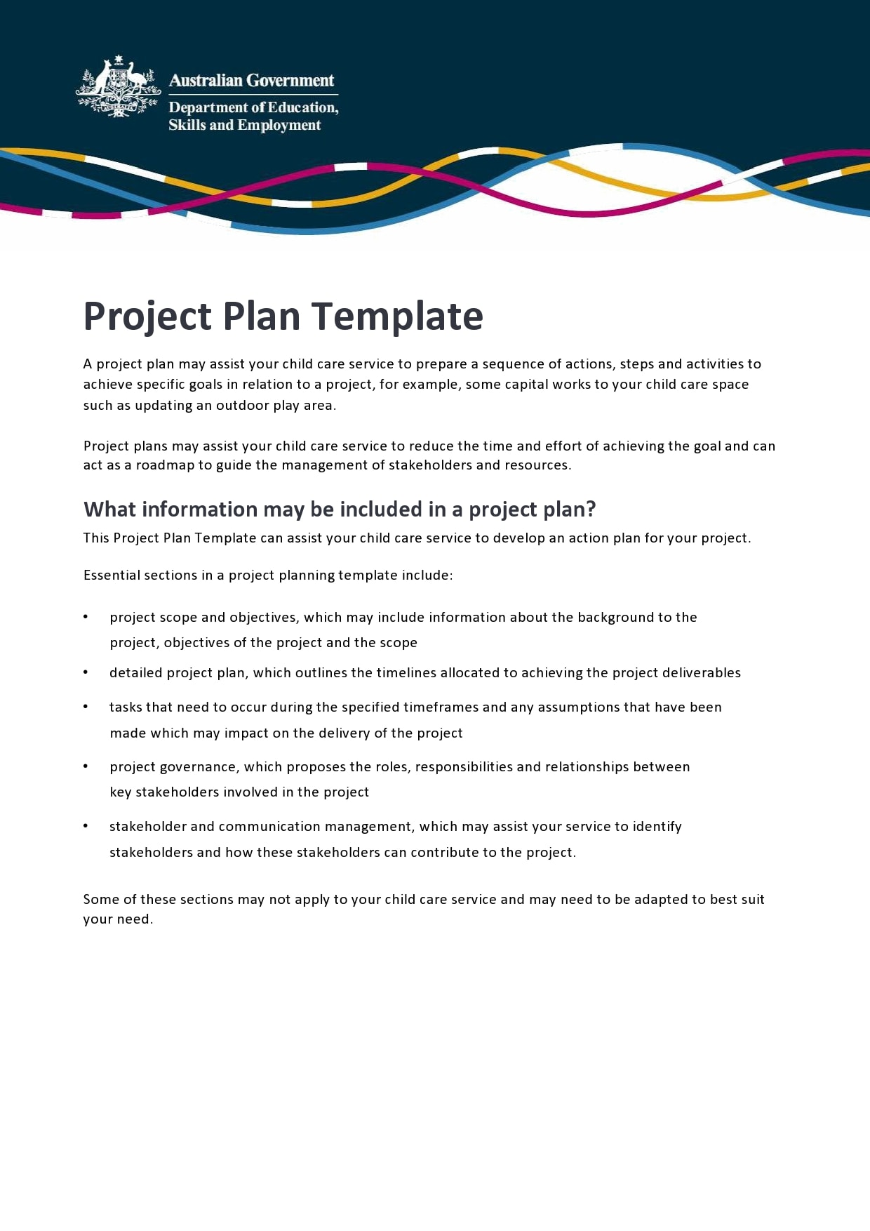 project plan example 30