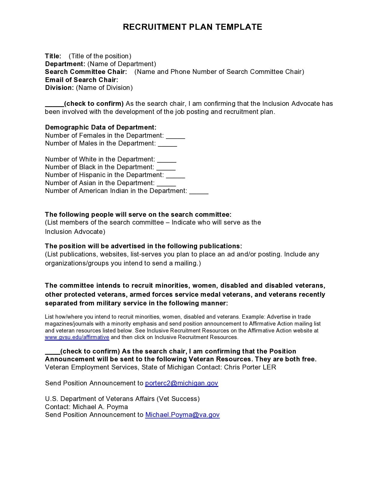 recruitment plan template 01