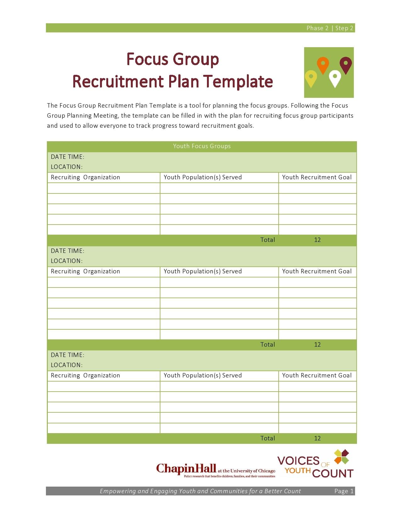 recruitment plan template 11