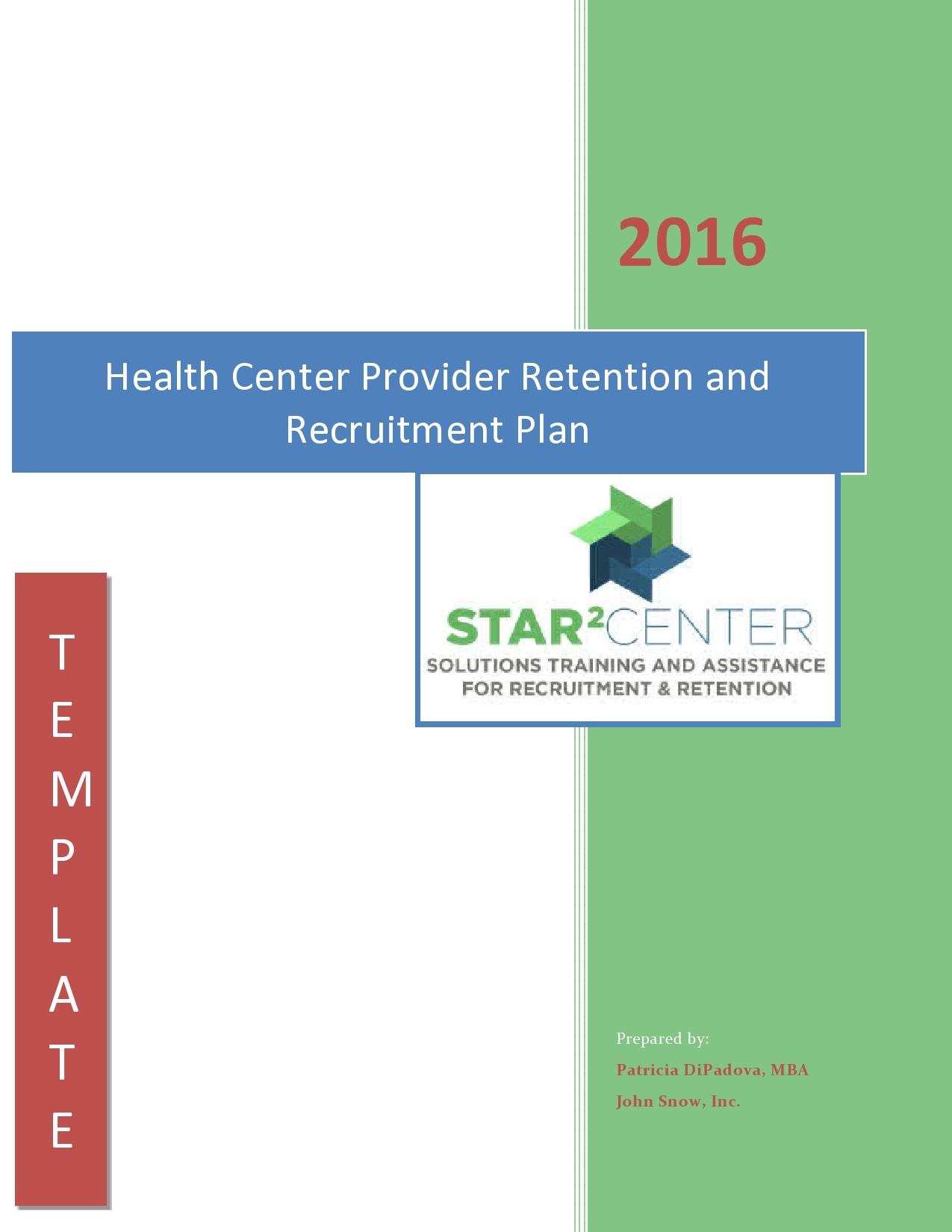 recruitment plan template 16