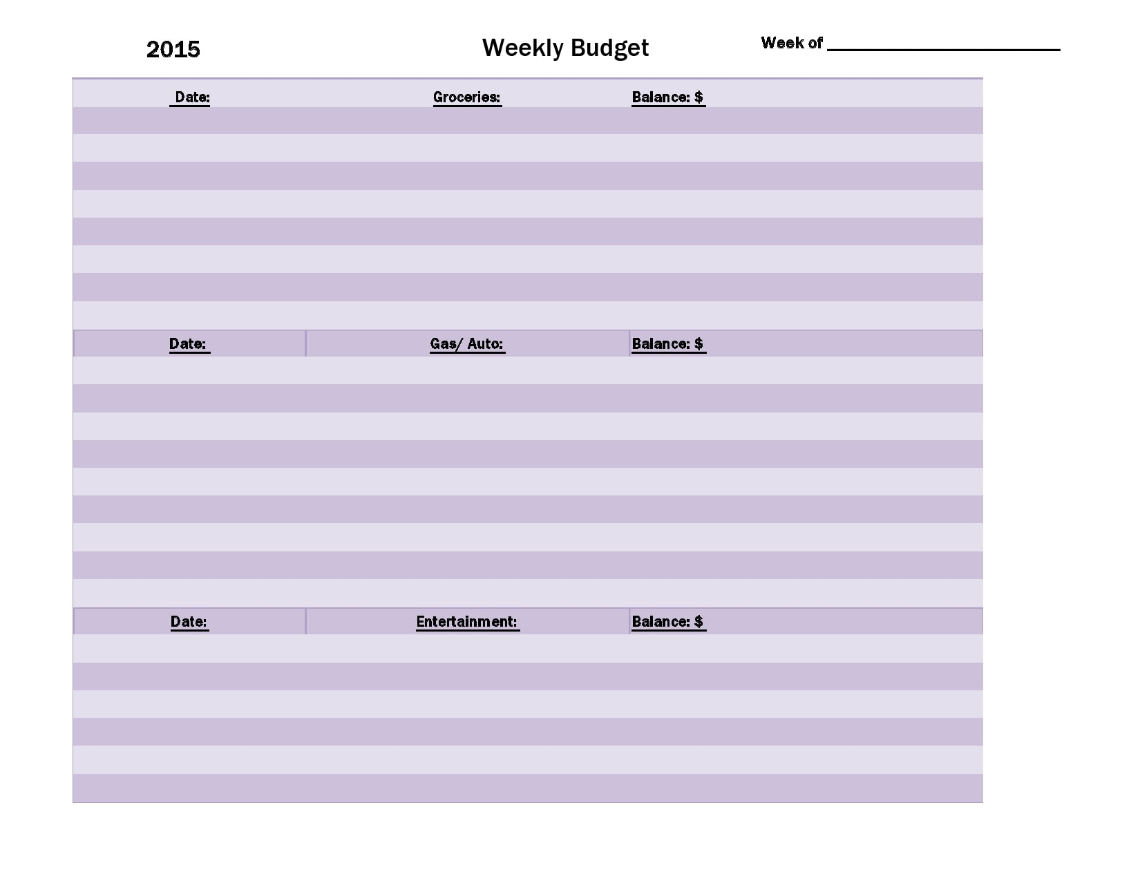 weekly budget template 08