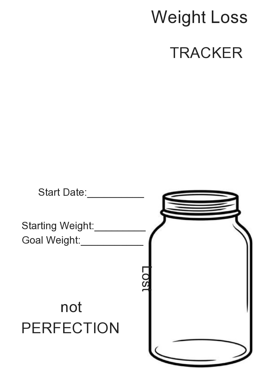 weight loss spreadsheet 11