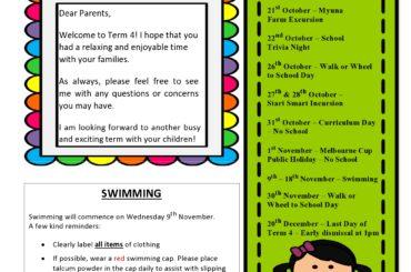 classroom newsletter template 28