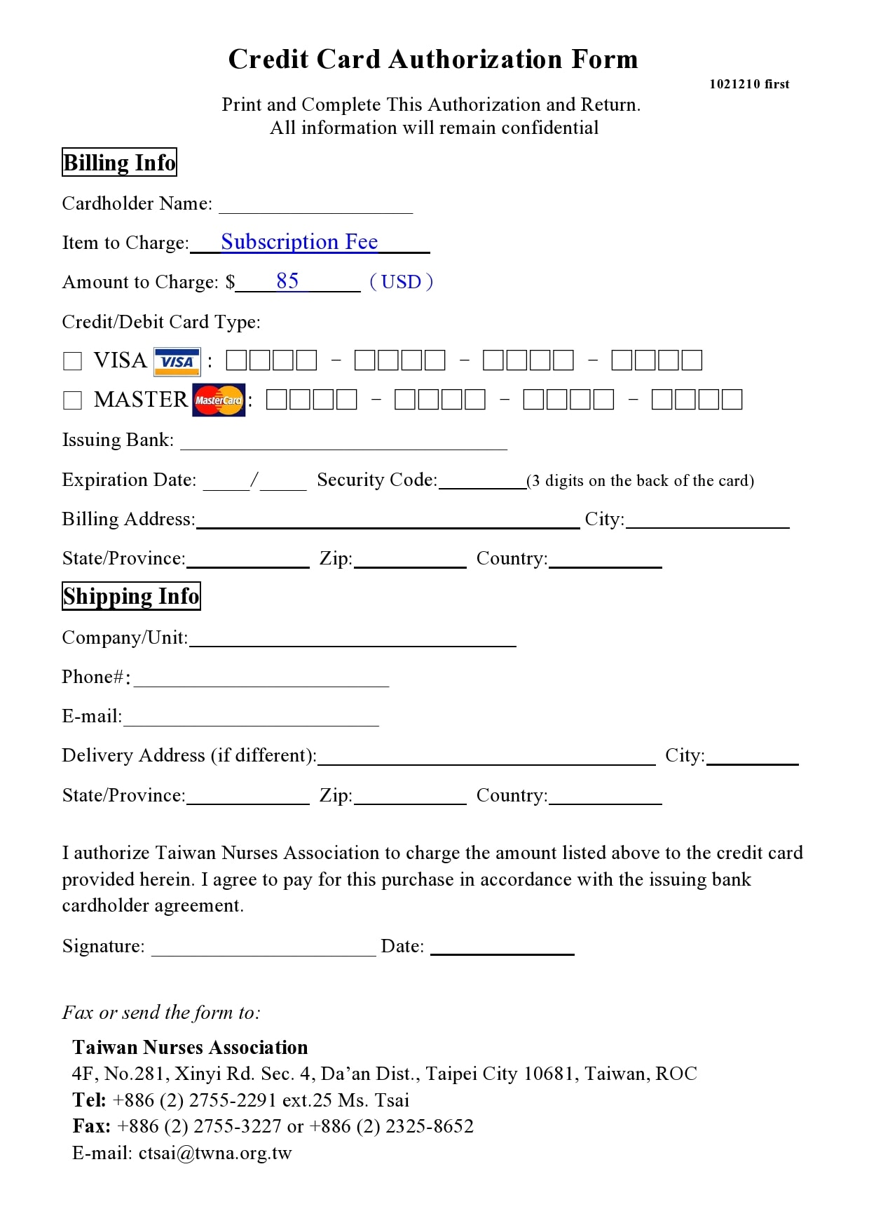 credit card authorization form template 04
