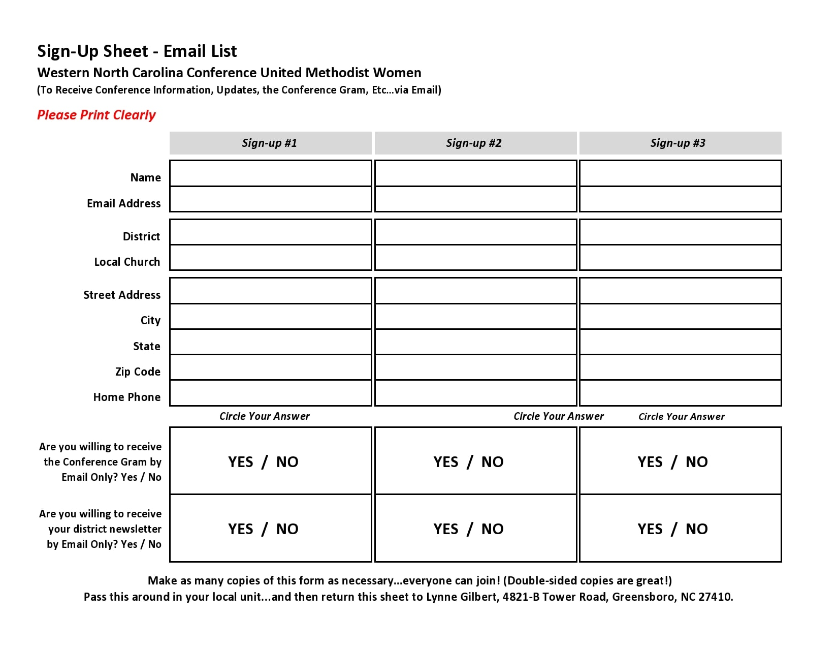 email sign up sheet 03