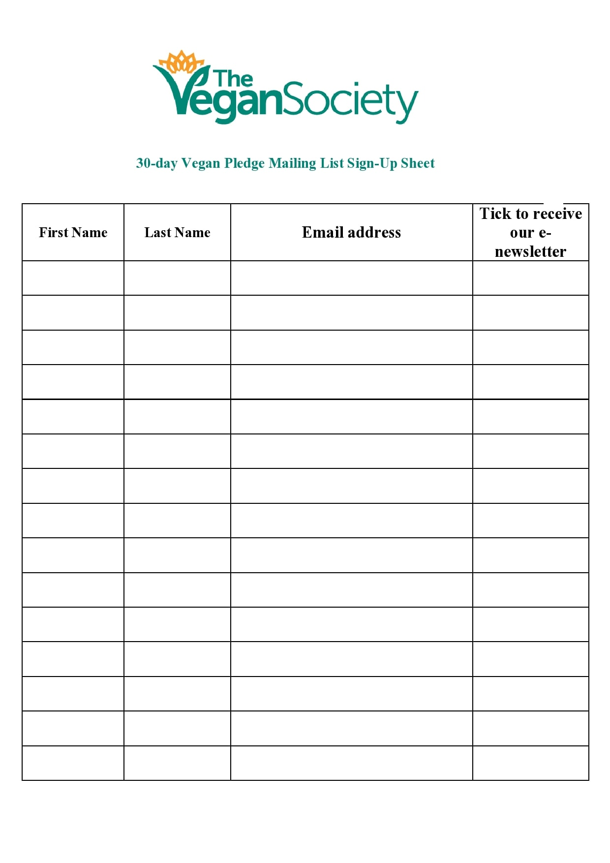 email sign up sheet 05