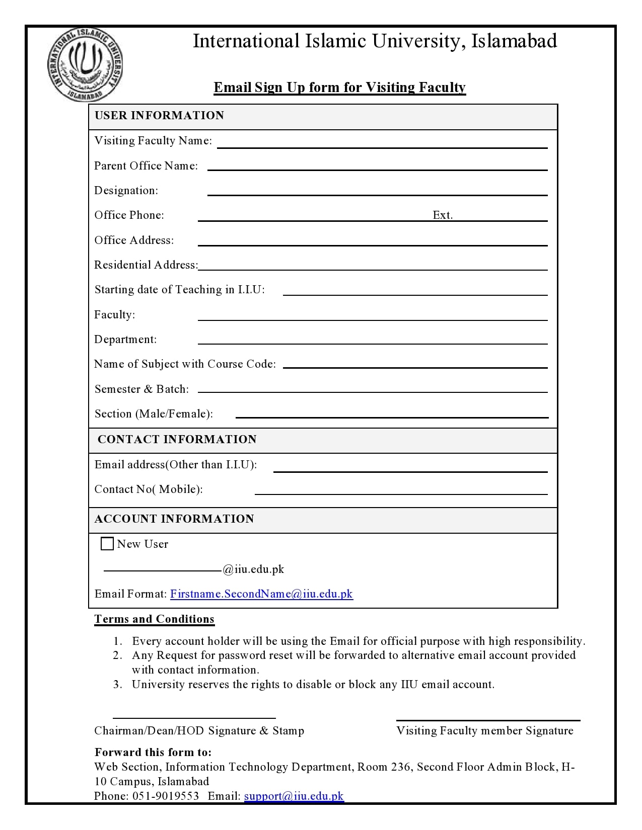 email sign up sheet 23